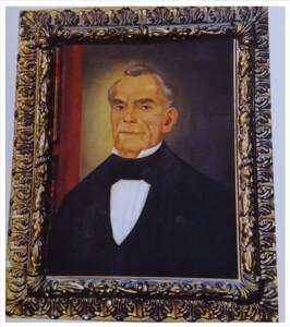 Προσωπογραφία Γεωργίου Τυπάλδου Ιακωβάτου (Ληξούρι 1813 - Ληξούρι 1882)