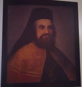 Προσωπογραφία Ηλία Μηνιάτη (Ληξούρι 1669 - Πάτρα 1714)
