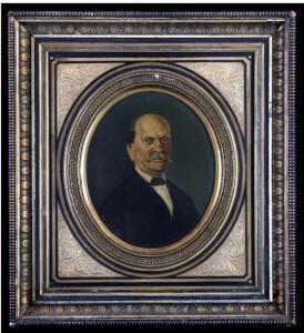 Προσωπογραφία Ηλία Ζερβού Ιακωβάτου(1814-1894)