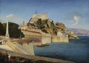 Η Κέρκυρα με το φρούριο