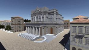 Τριδιάστατη Ψηφιακή Αναπαράσταση του Παλαιού  Δημοτικού Θεάτρου Κέρκυρας σε Εικονικό Κόσμο
